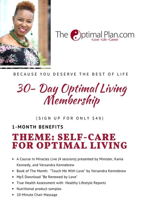 30-Day Optimal Living Membership