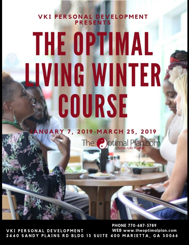 The Optimal Living Winter Course Front
